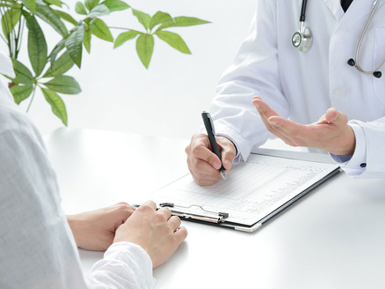 Beratungsgespräch Facharzt für Atemwegserkrankungen